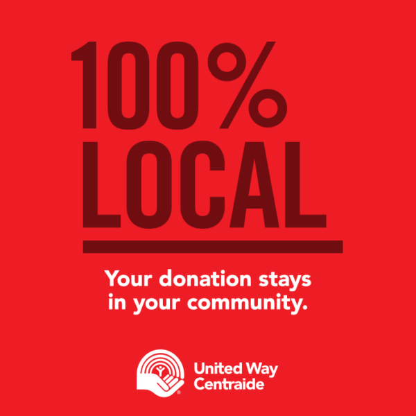 Your donation stays in your community