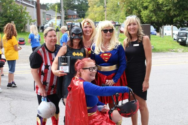 Tour de Perry 2016 Team Spirit Winners: Big Brothers Big Sisters Durham North!