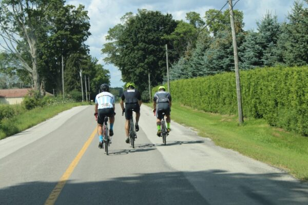 On route during the Ride4UnitedWay