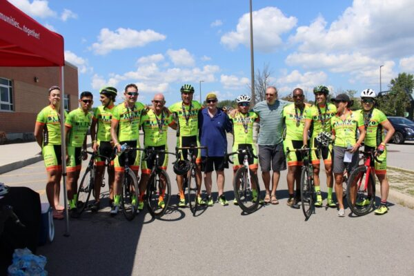 B1Evo had a great group riding at the Ride4UnitedWay