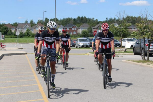 The Ride4UnitedWay Mystery Route riders have returned!