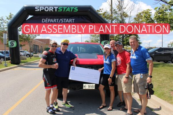 Thank you General Motors Oshawa Assembly Plant for having a team participate in and raise funds supporting the Ride4UnitedWay Way for the 3rd year in a row!