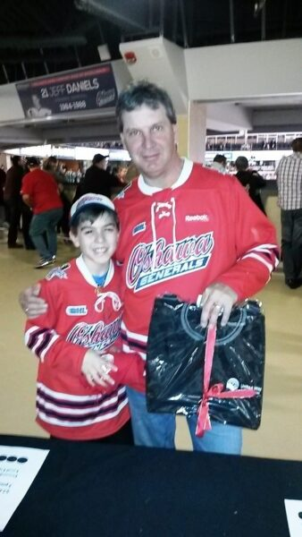 On March 15 as the Oshawa Generals took on the Kingston Frontenacs, the Oshawa Centre brought you Chuck a Puck to support the United Way Durham Region. 2nd prize went to Dwayne, Great arm!