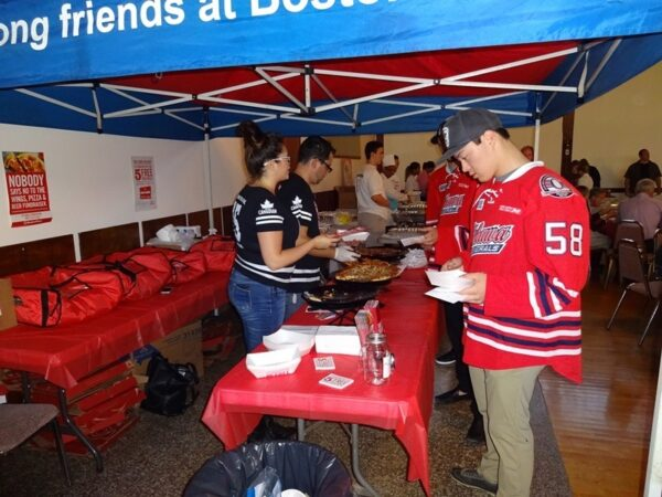 Wingfest, Bon Appétit held on September 22, 2015 to kick off the 75th annual campaign in Durham Region.