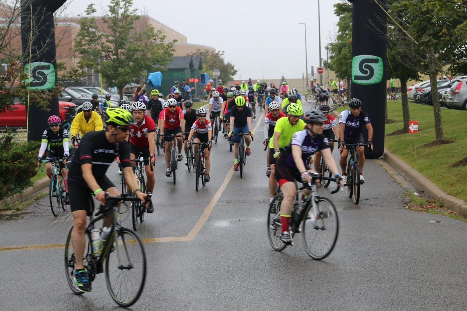 pack of bike riders
