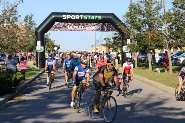 And the riders are off for the annual Ride4UnitedWay
