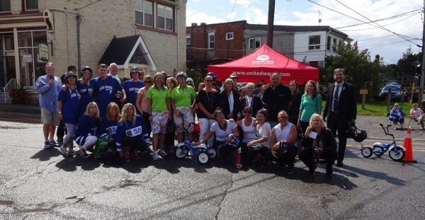 All Tour de Perry participants and the Race winners: Port Perry Villa