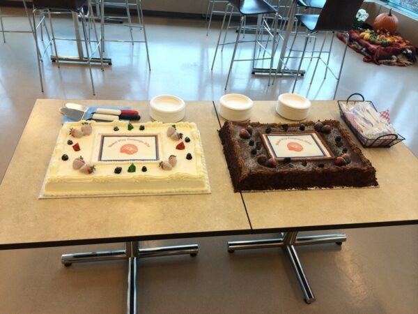On Thursday, November 6th, Purdue Pharma kicked off their United Way Campaign with a Town Hall meeting and delicious cake!