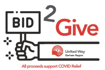 Bid 2 Give Logo