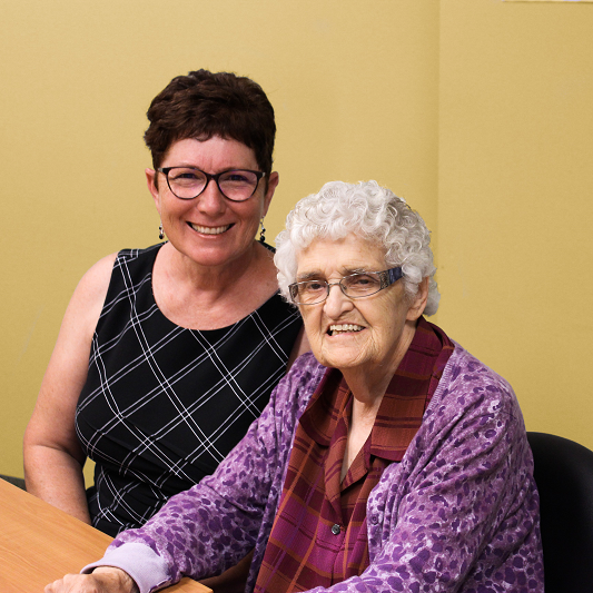 What does local love look like? It looks like Ruth and Elsie