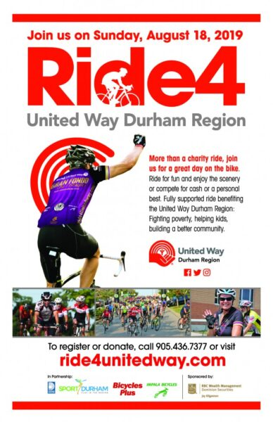 2019 Ride4UnitedWay Poster