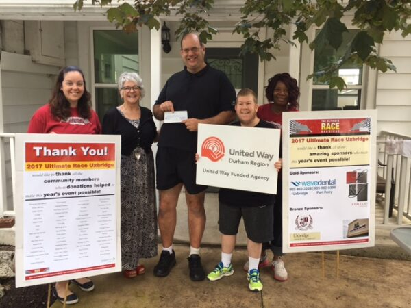 Thank you Community Living Durham North for hosting the Ultimate Race!