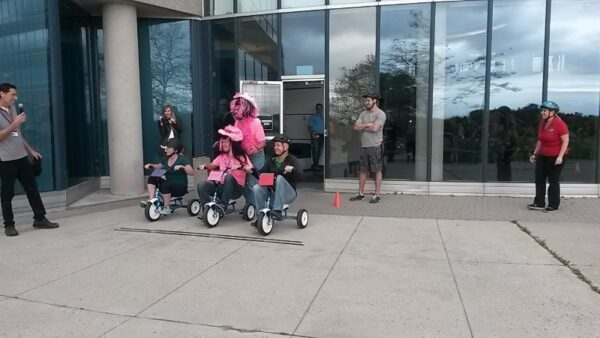 On October 6th the General Motors Kicked off their annual United Way Campaign with a Trike Race. Thank you for all of your support!