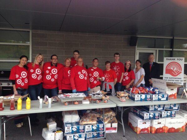 Target Employees Volunteering