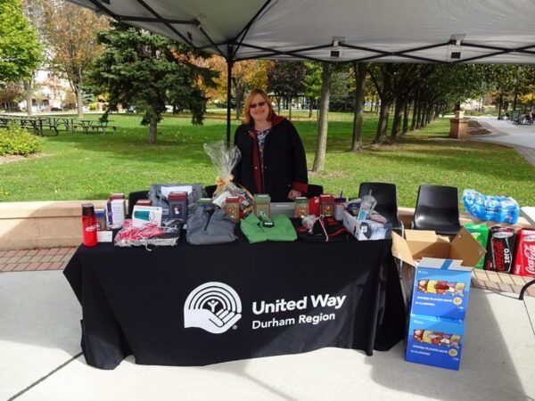 On October 14th the City of Pickering United Way Campaign team held a staff BBQ