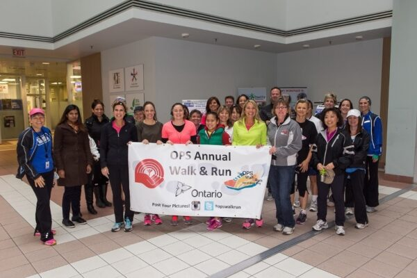 On October 21 the OPS held a Walk and Run for the United Way raising in excess of $2000