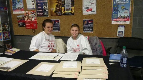 2 of our fantastic volunteers this weekend